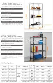 Bathroom Wire Shelving 10f Diy 3 Tiers Corner Wire Lowes Bathroom Shelf For Shampoo