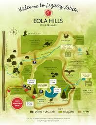 Map Of Salem Oregon by Tasting Room Legacy Estate Vineyard Eola Hills