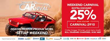 blibli weekend ekstra diskon 25 untuk produk mobil setiap weekend blibli com