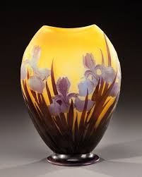 Galle Vase 412 Best Gallé Images On Pinterest Glass Vase French Art And Glass