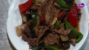 boeuf cuisiné cuisine chinoise comment cuisiner un bœuf sauté au poivre noir
