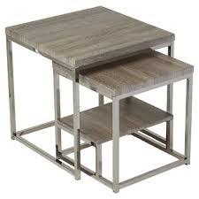 Nesting End Tables Modern Nesting Tables Allmodern
