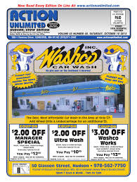 lexus of watertown free car wash 101015 hudson by action unlimited issuu
