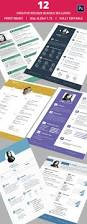 Unique Resumes Templates Creative Resume Template U2013 81 Free Samples Examples Format