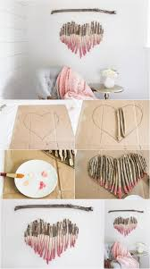 Easy Diy Home Decor How To Make An Interesting Art Piece Using Tree Branches Art