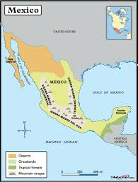 map central mexico maps of mexico start planning that vacation
