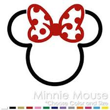 25 mickey mouse silhouette ideas minnie mouse