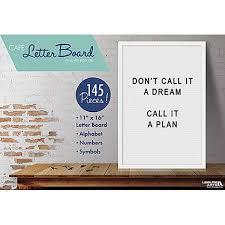 leisure arts inc felt letter board 12x16 walmart com