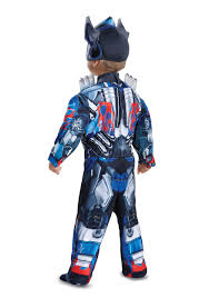 transformers optimus prime muscle costume for toddlers