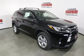 toyota sport utility vehicles new 2017 toyota highlander limited sport utility in escondido