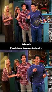 friends 1994 tv mistake picture id 49642