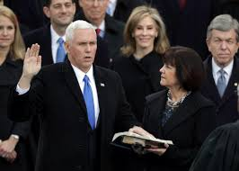 does mike pence call his wife