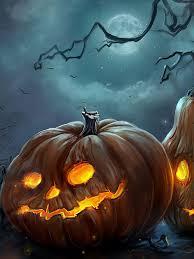 art halloween night pumpkins mobile wallpaper mobiles wall