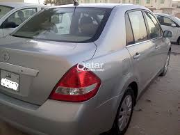 nissan tiida black nissan tiida 2006 model silver color automatic qatar living