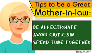 mother in law must read tips on how to be a good mother in law
