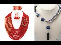 handmade beaded necklace designs images Handmade elegant beaded necklace designs beading patterns you jpg
