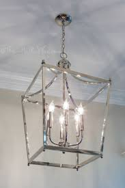 Hanging Chandelier Over Table by Best 25 Lantern Chandelier Ideas On Pinterest Lantern Pendant