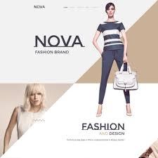 fashion website templates templatemonster