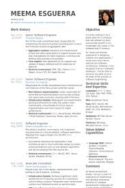 Sample Resume For Senior Software Engineer by Computer Software Engineer Resume Sales Developer Lewesmr