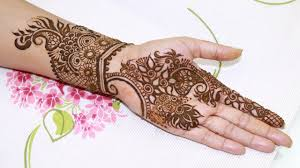 quick u0026 easy to draw floral henna design step by step tutorial