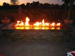 Propane Fire Pits With Glass Rocks by Fire Pit Recommended Outdoor Gas Fire Pit Kits Fire Pit Burners