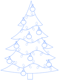 tree step by step drawing lesson