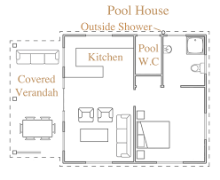 house plans with pools and outdoor kitchens pool house floor plans or by kvh design pool hse outdoor kitchen
