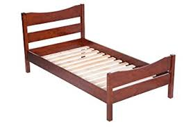 Twin Bed Frame And Headboard Amazon Com Merax Wood Platform Bed Frame Mattress Foundation With