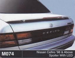 nissan cefiro nissan cefiro spoiler with led m074 max automart gombak