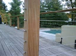 hog wire deck railing very safety u2014 farmhouse design and furniture