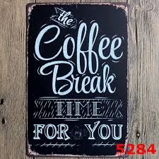 coffee menu know your coffee 8 12inch metal tin sign coffee pub