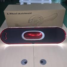 electric skateboard led lights new 10inch battery one wheel electric skateboard hoverboard