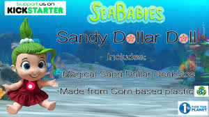 sandy dollar doll your new seababies pal from the sea by brien p