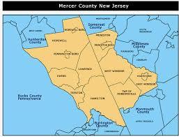 mercer map mercer county jersey map montana map
