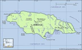 jamaica physical map jamaica history geography points of interest britannica