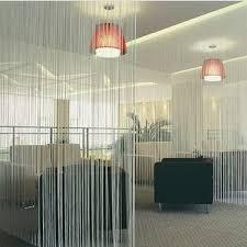 Panel Curtain Room Divider String Tassel Panel Curtain Room Divider Door Hanging 1m X 2m