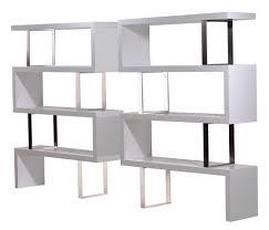 white bookcase room divider matakichi com best home design gallery