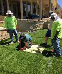 Laying Patio Slabs On Grass Installing Artificial Grass Between Pavers Synthetic Grass Warehouse