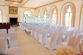 White Banquet Chair Covers Our Chair Covers At Northbrook Park Designer Chair Covers To Go