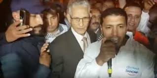 cuisine centrale le mans uproar in morocco after minister participates in sit in against boycott