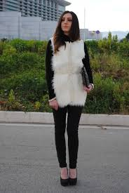 the 25 best white fur vest ideas on pinterest fur vest
