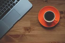 papier peint bureau ordinateur café tasse papier peint ordinateur portable macbook bureau