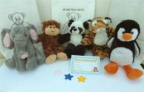 build a teddy 6 x 8 zoo animals no sew build a teddy splodge party
