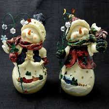 home interiors and gifts homco snowman pals figurines 57061 04 set
