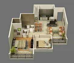 Small 2 Bedroom Unit Architecture Residential