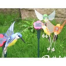 1 only solar garden ornament of flying humming bird manufacturer