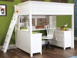 Wooden Bunk Beds With Desk Chicago Loft Beds Solid Wood Loft Bed - Full bunk bed with desk