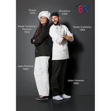 veste de cuisine homme noir veste de cuisine chef tissu gabardine de haute qualité coton