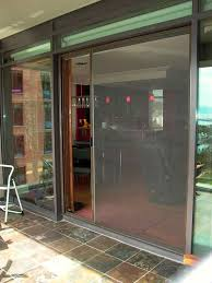 Sliding Screen Door Closer Automatic by Screen Sliding Doors Retractable Door Screens For French Entry And
