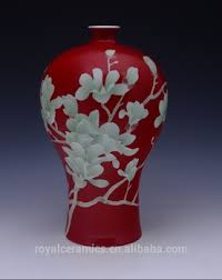 Hand Painted Chinese Vase High Value Collection China Famous Master Work Hand Painted
